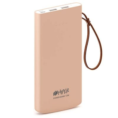 HIPER POWER BANK Travel10k Peach