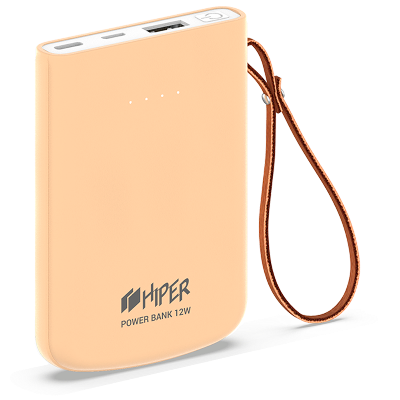 HIPER Power Bank Travel5k Peach