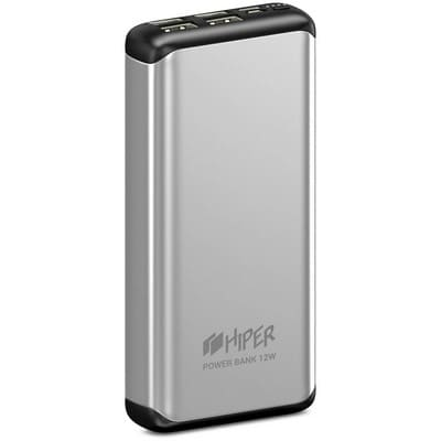 HIPER Power Bank MS20000 Silver