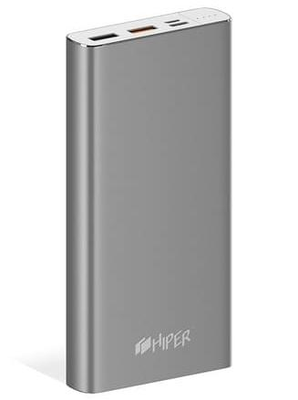 HIPER POWER BANK MPX15000 SPACE GRAY