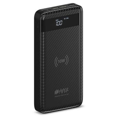 HIPER Wireless Power Bank SX20000 Black