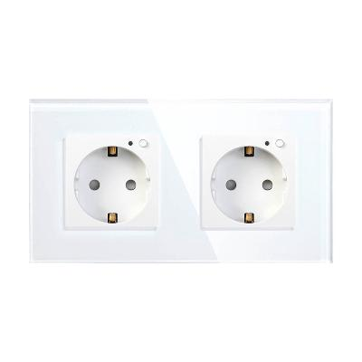Smart panel socket Wi-Fi HIPER IoT Outlet W02 Duo