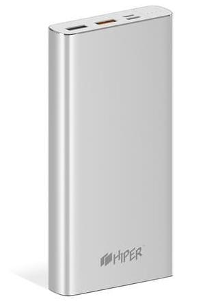 HIPER POWER BANK MPX20000 SILVER