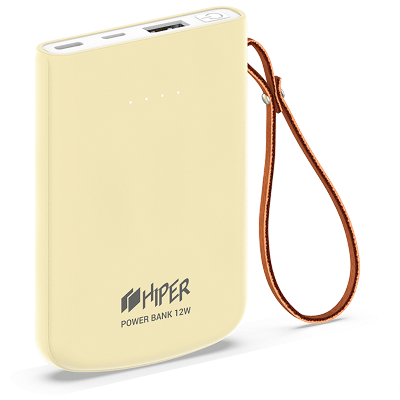 HIPER Power Bank Travel5k Lemon